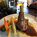 Lamb Shank | Photo taken by Laura D