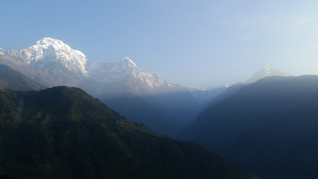 Anapurna Southern ranges from Gandruk  | Photo taken by Gareth O