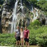Plitvice Lakes, Waterfalls   Photo taken by Michael G