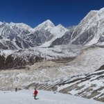 Heading down from Larka Pass | Photo taken by Susan G