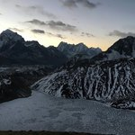 Gokyo Ri at dawn | Photo taken by Tony L