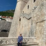 Walking the walls of Dubrovnik | Photo taken by Eva W