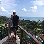 View from Si Como No - our digs in Manuel Antonio | Photo taken by Raj V