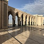 Ouside Hassan II | Photo taken by Thomas C