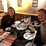 Shabu shabu dinner in Tokyo | Photo taken by Joost S
