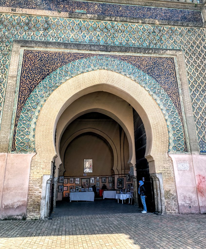 Bab Mansour | Photo taken by Eileen S