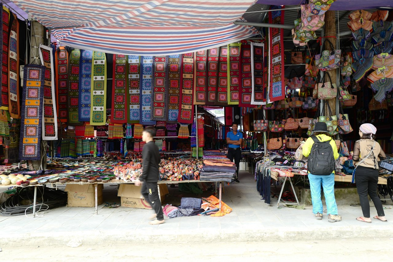 Bac Ha market truly sells everything under the sun! By the locals for the locals!   Photo taken by Su-Lin T