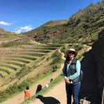 Lisa at Pisac | Photo taken by Charles M