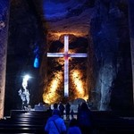 The salt cathedral in Zipaquira | Photo taken by Ella W