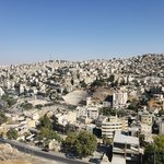 View of Amman from the Citadel | Photo taken by Shikha G