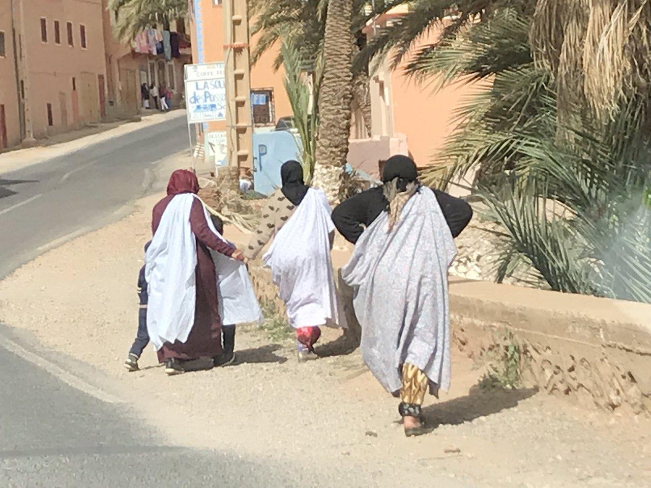 Berber women | Photo taken by Chris M