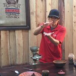 Tour Guide at Don Juan Coffee Tours | Photo taken by Rachel H