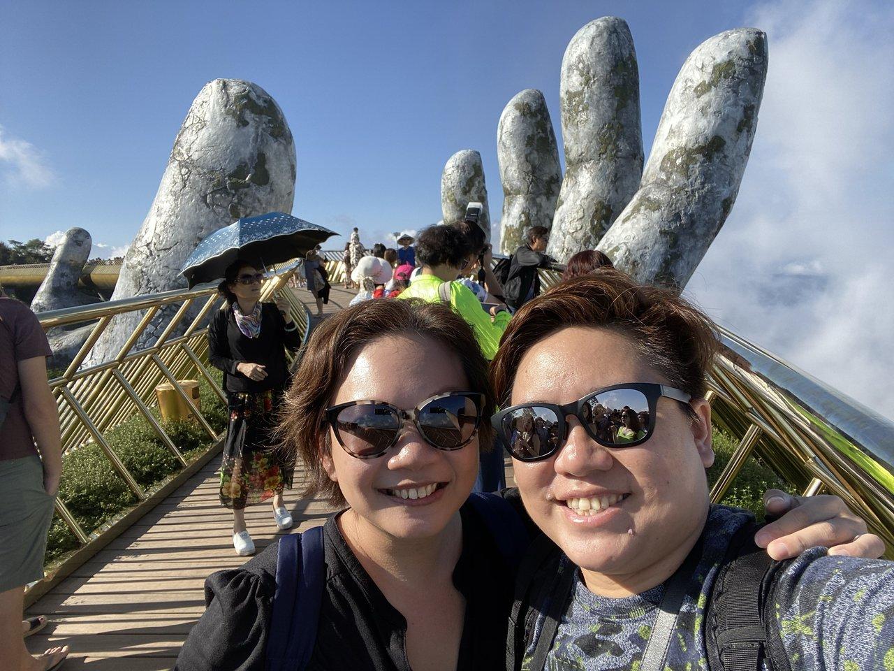 Hello Golden Bridge of Bana Hills!   Photo taken by Su-Lin T
