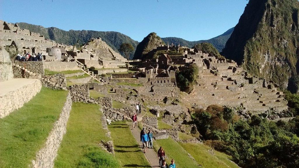 Machu Picchu!   Photo taken by Gretchen M