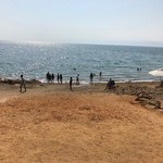 Dead Sea mud! | Photo taken by Dominic M