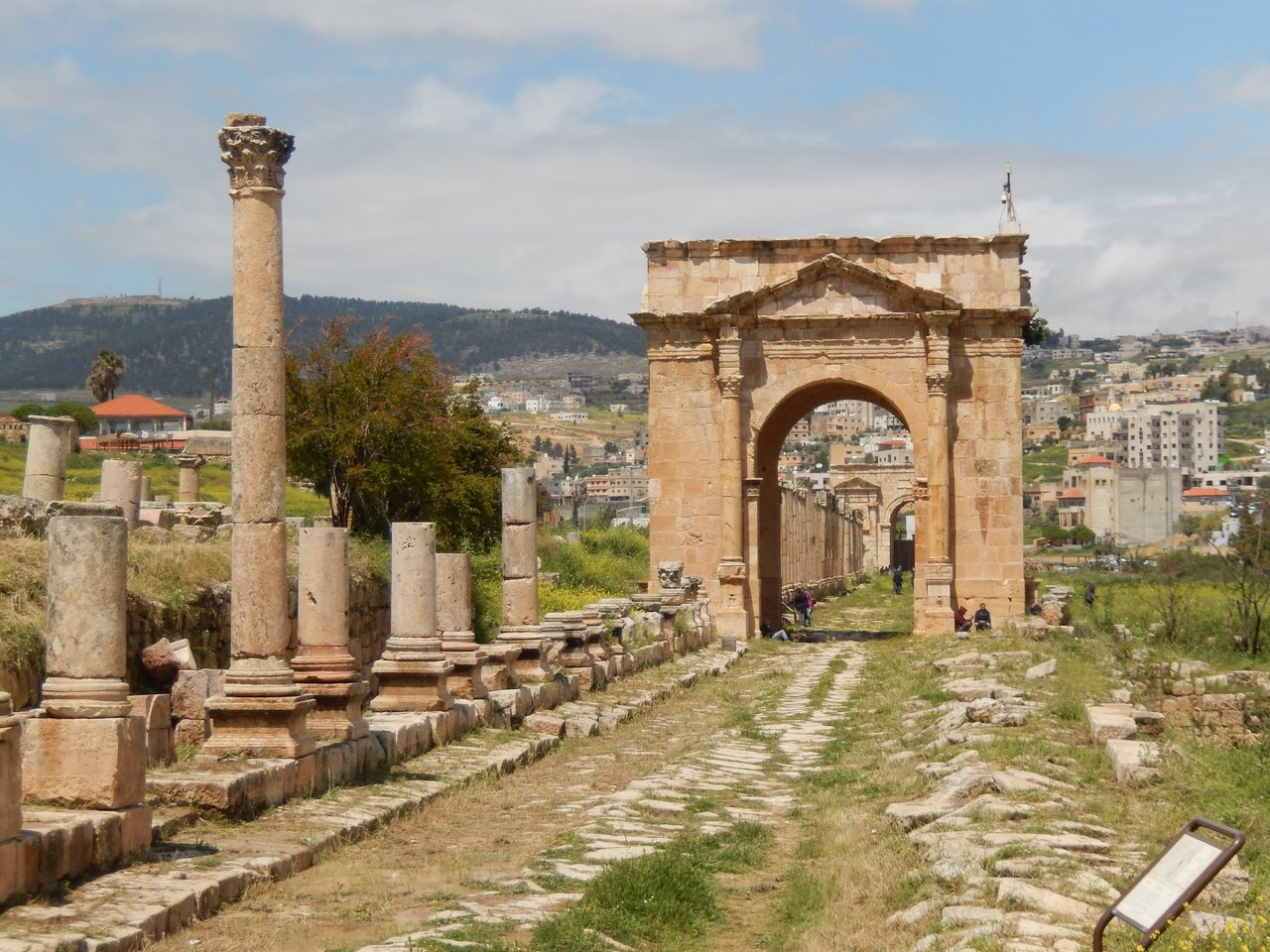 North Gate, Jerash | Photo taken by Linley V