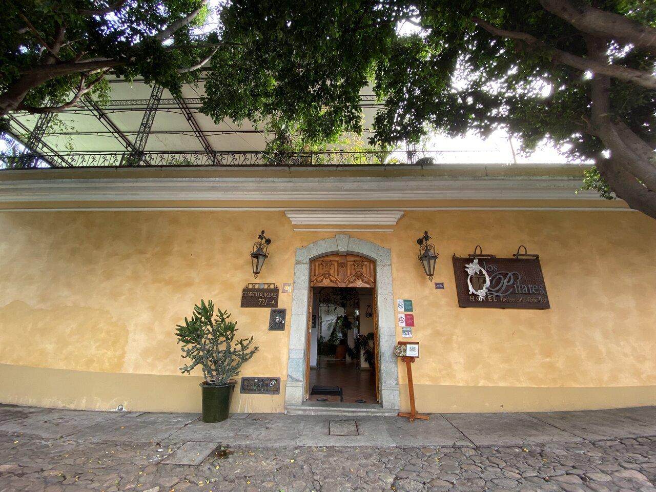 Our hotel in Oaxaca   Photo taken by Jazmin D