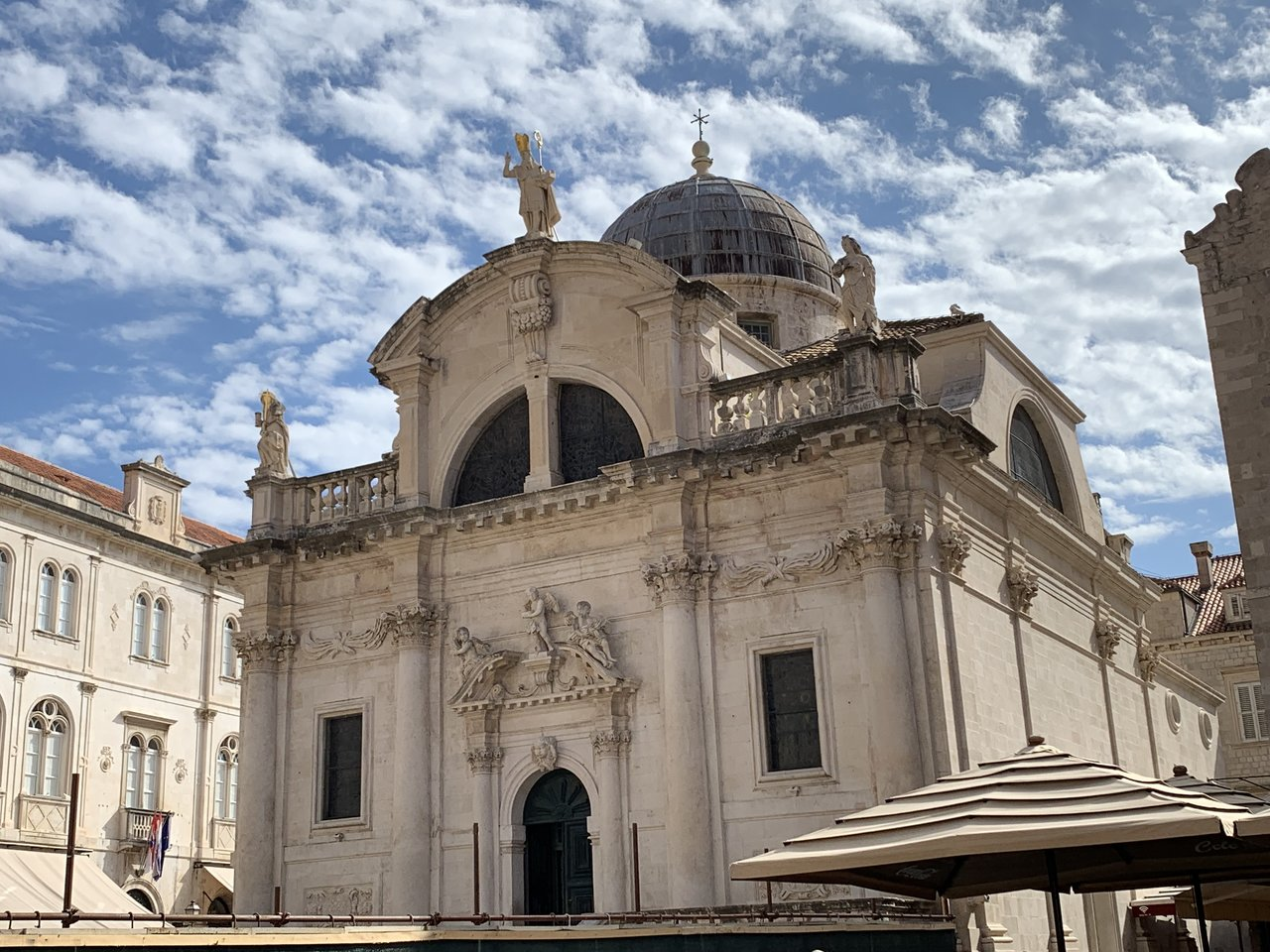 St Blaise's Church (saint and protector of Dubrovnik) | Photo taken by Eva W