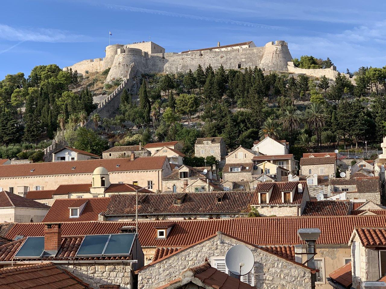 Fortress above Hvar | Photo taken by Eva W