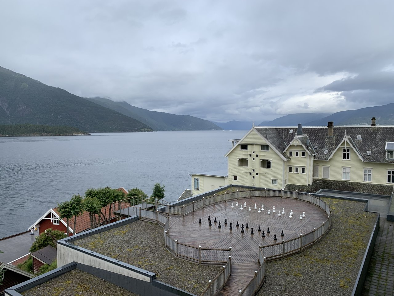 Hotel in Balestrand  | Photo taken by Jessica H