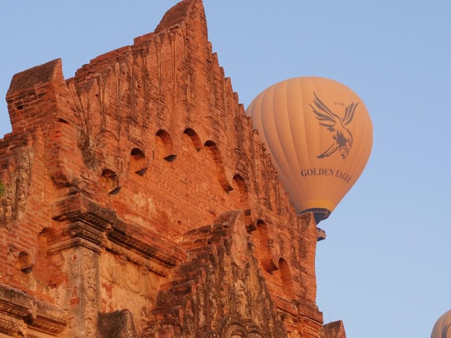 Balloons over Bagan | Photo taken by Koy T