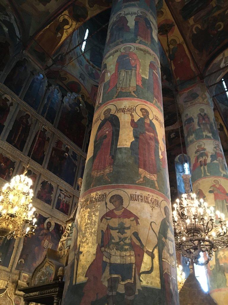 Inside church Kremlin grounds   Photo taken by Diane P