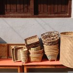 Baskets in Kathmandu | Photo taken by Dorine H