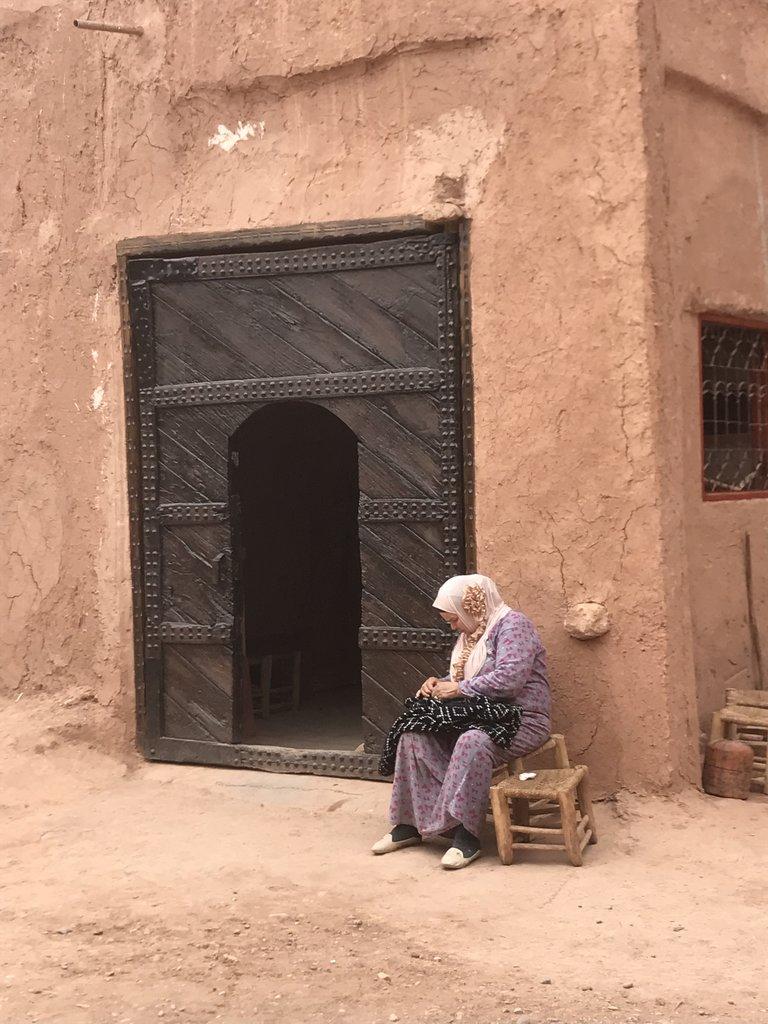 Kasbah of Ait-Ben_Haddou | Photo taken by Chris M
