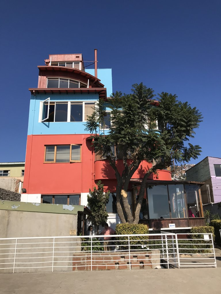 Pablo Neruda's home in Valparaiso was totally cool.... | Photo taken by Lauri F