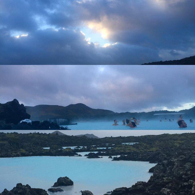 The Blue Lagoon/sunrise  | Photo taken by Marisa K