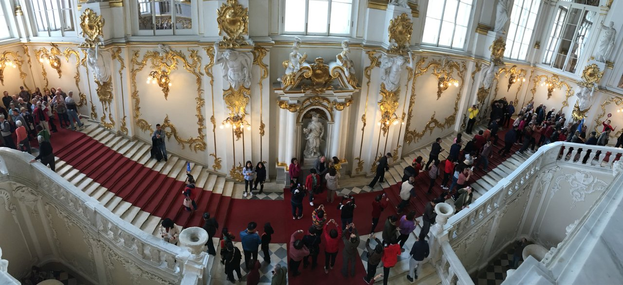 Hermitage main staircase | Photo taken by Diane P