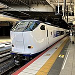 Local train down south to Kii peninsula | Photo taken by Joost S