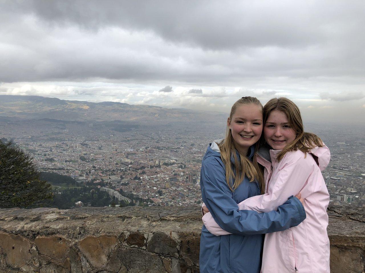 Monserrate, Bogota | Photo taken by Rachel B