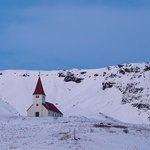 Church at Vik | Photo taken by Grace L