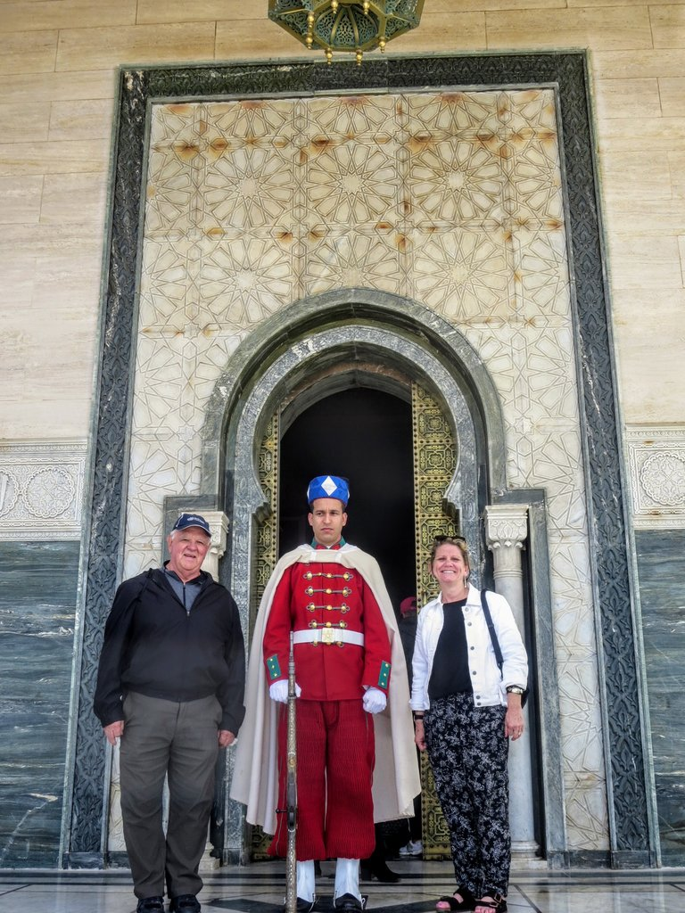 The Guards of Hassan's Tomb | Photo taken by Eileen S