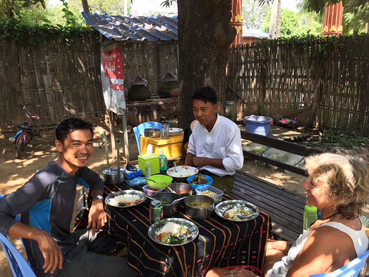 Locals always feeding us so we'll.  | Photo taken by Rachael W