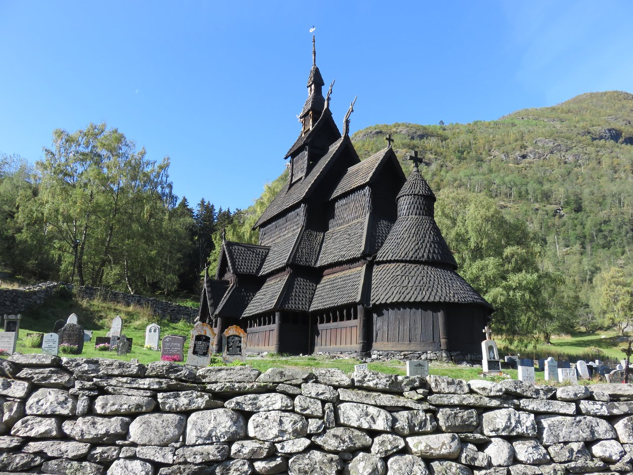 Borgund Stave Church | Photo taken by Mary K