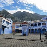 Main square of old Chefchaouen  | Photo taken by Alif Nadya Inniar R
