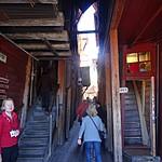 Bergen's old wooden narrow buildings | Photo taken by Richard T