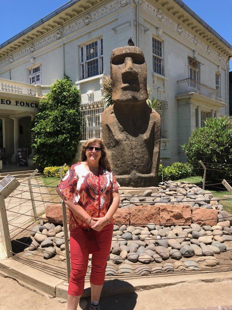 Museo de Arqueología e Historia Francisco Fonck | Photo taken by Melody B