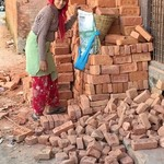 Beautiful Nepalese woman are so strong and work hard | Photo taken by Lynne N
