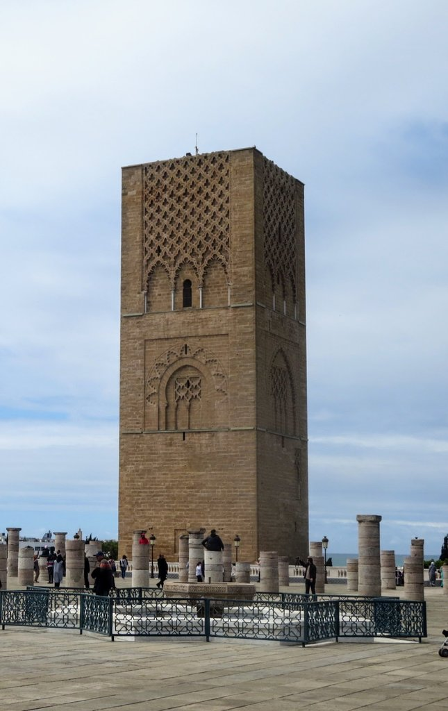 Hassan Tower  | Photo taken by Eileen S