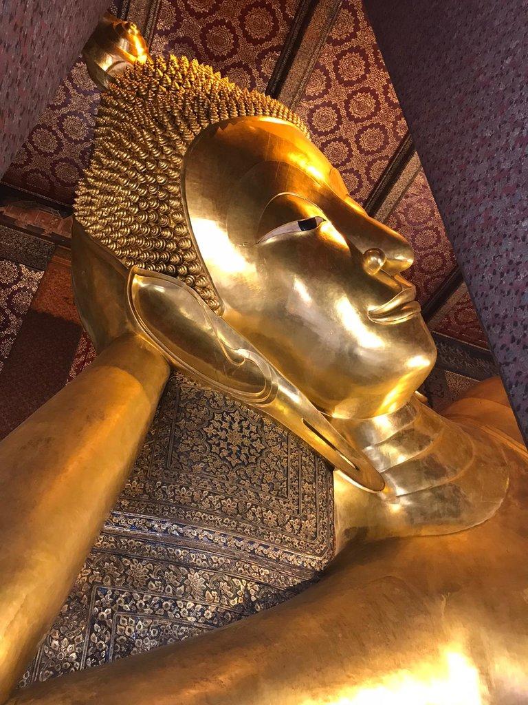 Reclining Buddha | Photo taken by Deborah B
