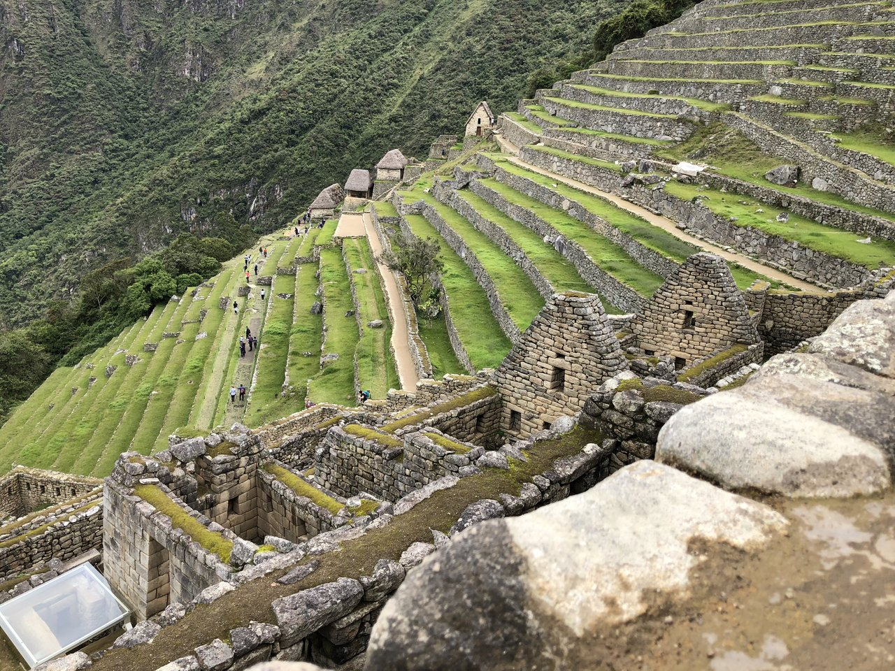 The beautiful terraces | Photo taken by Susan D