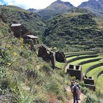 View from Trail down from top of Pisac | Photo taken by Charles M