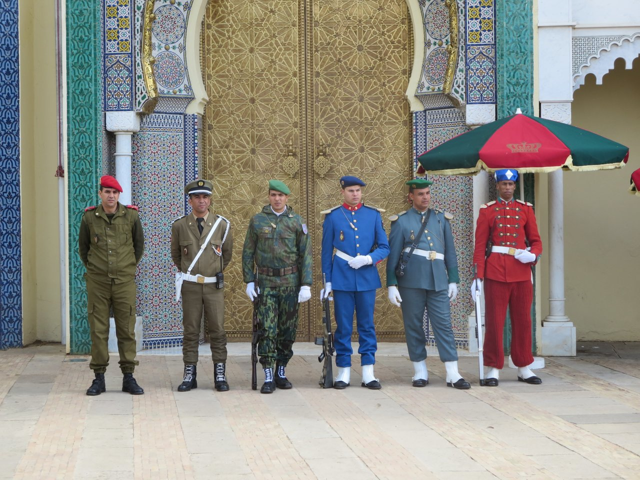 The guards of the Royal Palace | Photo taken by Eileen S