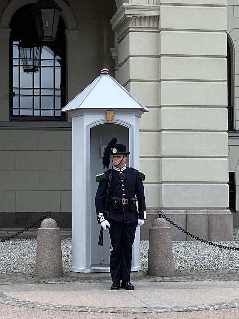 Oslo Palace Guard | Photo taken by Robin W