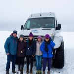Super jeep taken to ice cave. | Photo taken by Grace L