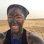 Dead Sea mud Facial | Photo taken by Mia F
