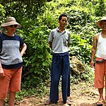 Romero, Elephant Camp Guide and Naing, Kalaw and Inle Lake Guide | Photo taken by Rodney S